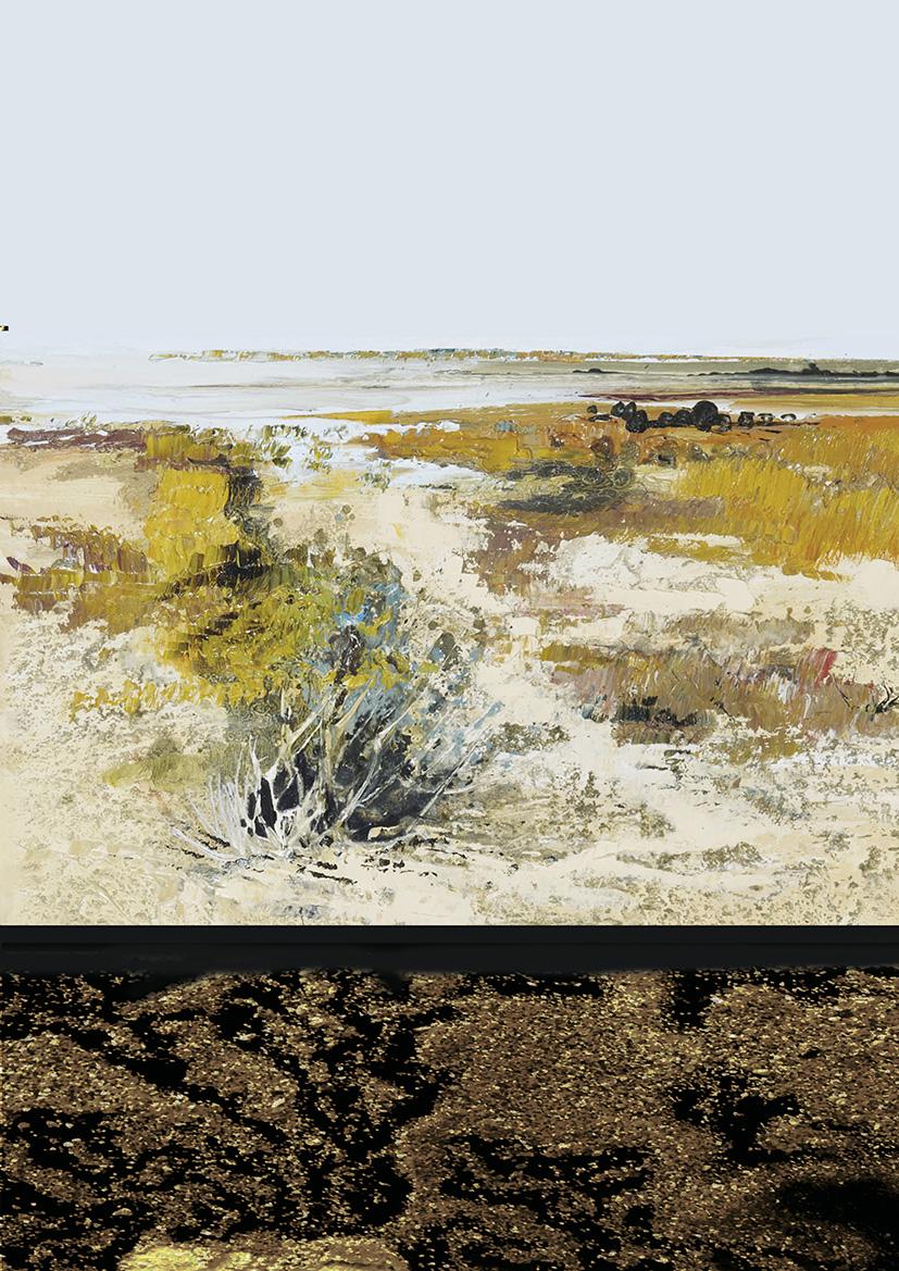 Les techniques du sable dans la peinture artistes for Peinture avec du sable